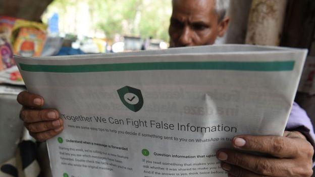 La difusión de información errónea en WhatsApp ha sido una causa importante de preocupación, particularmente en países como India y Brasil.